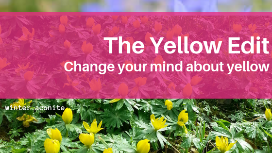 Flowers to make you change your mind about yellow!